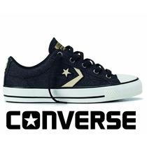 20% Off Converse All-star Player Jeans Ev Ox Preto