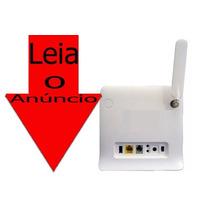 Modem Roteador 4g Zte Mf253l 300mbps Desbloq Leia O Anúncio!