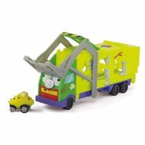 Trash Wheels Caminhão Cegonha Lixo C-1 Carrinho! Dtc