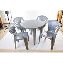 Mesas E Poltronas Ou Cadeiras Plásticas Inmetro Certificado