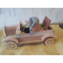 Carro De Madeira Miniatura Greenville 1908-produto Artesanal