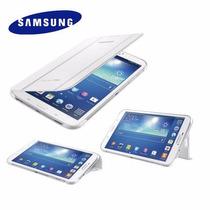 Case Capa Book Cover Samsung Tab3 7,0 T210 T211 +brinde