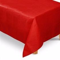 Toalha De Mesa Tnt Retangular Vermelho 1,40m X 2,00m