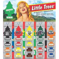 Little Tree Aromatizantes Para Carros E Ambientes From Usa