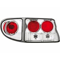 Tuning Imports Par De Lanterna Altezza Ford Escort 1997/2004
