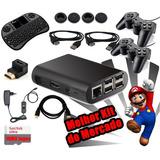 Kit Raspberry - Video Game Retro 15 Itens - 12 Mil Jogos
