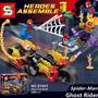Lego Sy841 Super Heroes Homem Aranha Motoqueiro Fantasma