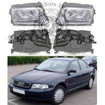 Farol Audi A4 De 1995/1998 Novo Direito.