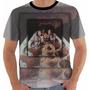 Camiseta Camisa Baby Look Secos E Molhados Color