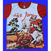 Camisa De São Jorge Pintura A Óleo