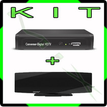 Kit Conversor Tv Digital H D T V + Antena Interna - H D M I