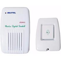 Campainha Residencial Wireless Sem Fio Bivolt Frete Gratis