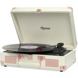 Toca Discos Sonetto Gravação Bluetooth Rose Gold