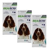 Bravecto Para Cães De 10 A 20 Kg - 3 Caixas - Pronta Entrega