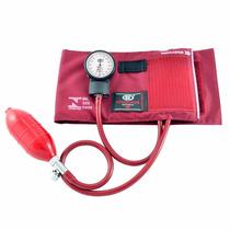 Aparelho De Pressão Esfigmomanômetro Velcro Vinho Bic Ap0315