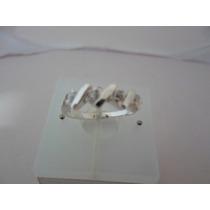Anel Com Zirconias Em Prata 925