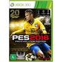 Jogo Pes 2016 Xbox 360 Ntsc Midia Fisica Original