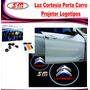 Luz De Cortesia Projetor Logomarca Citroen C3 C4 Picasso C5