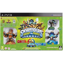 Jogo Skylanders Swap Force Starter Pack- Ps3 - Playstation 3