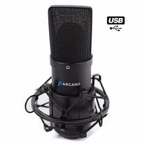Kit Arcano Com 01 Microfone Bku-01 + 01 Pedestal Arst-01