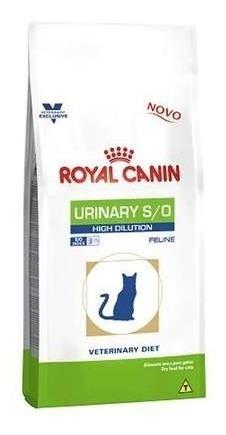 Ração Royal Canin Feline Veterinary Diet Urinary H/d 7,5 Kg