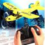 Avião De Controle Remoto Sea Gull Rc Bimotor Pronta Entrega