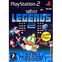 Comprar Jogos Patch Taito Legends 2 P/ Play 2 Playstation2