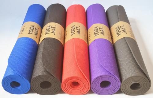 c4c3821cc Kit 8 Tapetes Para Yoga Atacado Em Pvc - Esteira Colchonete