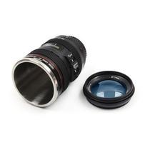 Caneca Termica Tampa Lente Canon 24-105mm - Copo De Alumínio