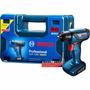 Furadeira E Parafusadeira À Bateria Bosch Gsr1000 Smart 12v