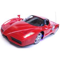 Ferrari Enzo 1:16 Carrinho Carro Controle Remoto Neon Led