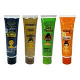 Kit 4 Mascara Facial Mato Verde Profissional Bisnaga Atacado