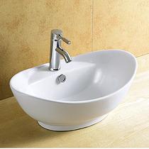 Cuba Banheiro De Sobrepor Porcelana Vitrificada Linda 8001