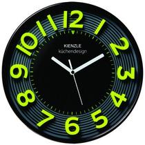 Relógio Parede 3d Lime Cozinha Amarelo Novo 30 Cm Kienzle