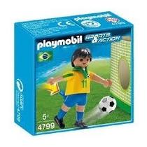Playmobil 4799 - Jogador De Seleção Brasileira (novo)