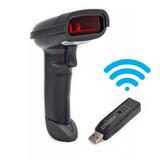 Leitor Código De Barras Wireless Laser Sem Fio Scanner