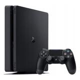 Sony Playstation 4 500gb Standard Jet Black