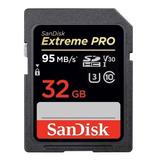 Cartão De Memória Sandisk Sdsdxxg-032g-ancin Extreme Pro 32gb