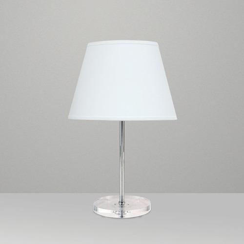 Abajur Metal Branco Para Sala Luminária Quarto Lustre  ~ Abajur Ou Luminaria Para Quarto