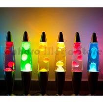 Lampada Mini Refletora Para Luminária Lava Lamp Rosa 34cm