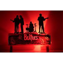 Luminaria Em Pvc Com Tema Beatles
