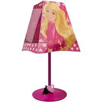 Abajur Barbie Porta Retrato Decoração Quarto Menina Startec