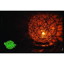 Abajur Artesanal (lustre - Luminária - Decoração)