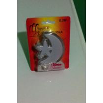 Kit Com 2 Mini Luminária Abajur De Tomada Lua E Estrela
