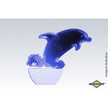 Abajur De Tomada Luz Not. Led Azul Golfinho 127v Brasfort