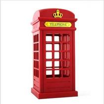 20x Luminaria Abajour Cabine Telefonica Londres