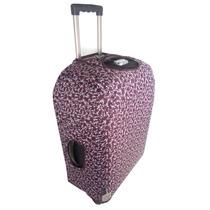Capa Protetora Para Mala Viagem Tam M Tecido Proteção Velcro