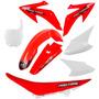 Kit Plásticos Honda Crf 230 Roupa Vermelho Banco + Brinde