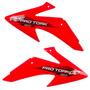 Aletas Laterais Tanque Crf230 Pro Tork Vermelho Motocross
