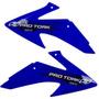 Aletas Laterais Tanque Crf230 Pro Tork Azul Motocross